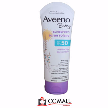 Picture of Aveeno Baby Sunscreen Sensitive Skin Spf/Fps 50 88mL