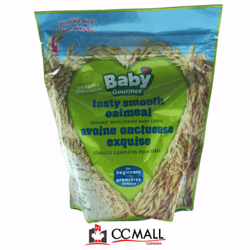 Picture of Baby Gourmet Tasty Smooth Oatmeal Organic Wholegrain Baby Cereal From 6Month