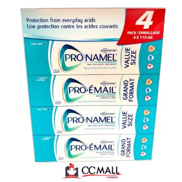 Picture of Sensodyne Pronamel Toothpaste 4 x 115mL