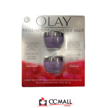 Picture of Olay Regenerist Night Firming Cream 2 x 50mL