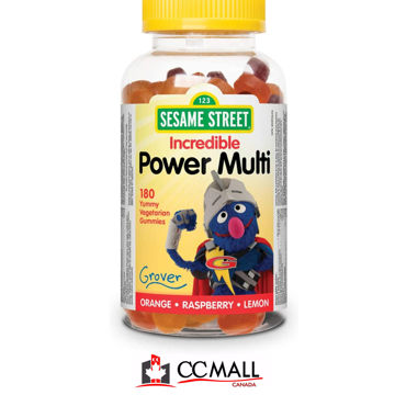 Picture of Webber Naturals Multivitamin & Mineral Orange • Raspberry • Lemon 180 Gummies