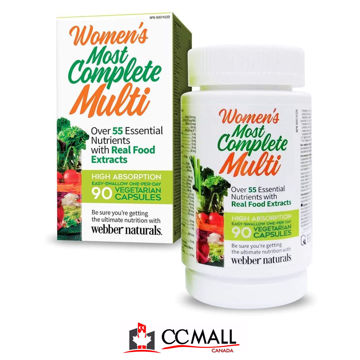 Picture of Webber Naturals Women's, Most Complete Multi Vitamin- 90 Count