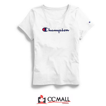 Picture of Champion Women's Classic Tee Script Logo (Size : XS,  S, M, L )