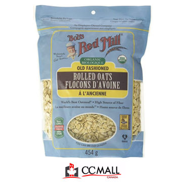 Picture of BOBS RED Mill Organic Regular Rolled Oats, 454g