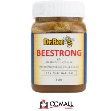 Picture of Dr Bee BeeStrong Bee Propolis + Bee Pollen (Made in Canada) -50g / 500g