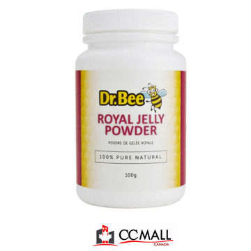 Picture of Dr Bee 100% Pure Royal Jelly Powders (Made in Canada) -100g