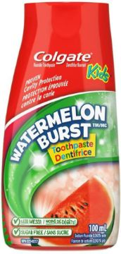 Picture of Colgate Liquid Gel 2-in-1 Kids Watermelon Burst Toothpaste And Mouthwash 100mL