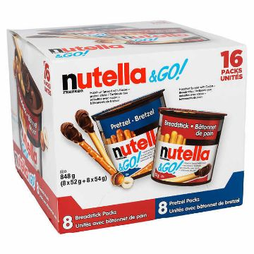 Picture of Ferrero Nutella Pretzel and Breadstick Snacks, 848 g