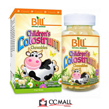 Picture of Bill Natural Sources Children's Colostrum -90 Chewables