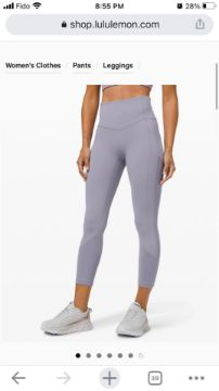 Picture of lulu lemon legging