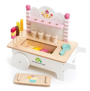Picture of Tender Leaf Toys Ice Cream Cart (3 years and older)