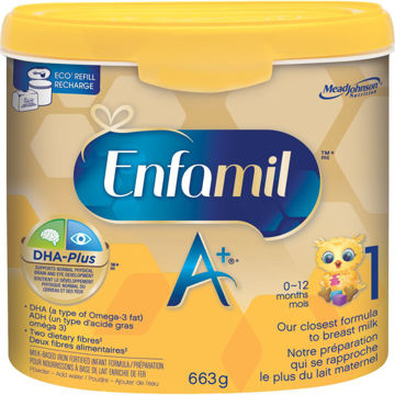 Picture of Enfamil A+ 1 Infant Formula Powder Tub, (0~12Months ) 663g