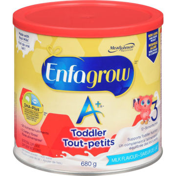 Picture of Enfagrow A+ 3 Toddler Nutritional Powder,Milk Flavour- 680g