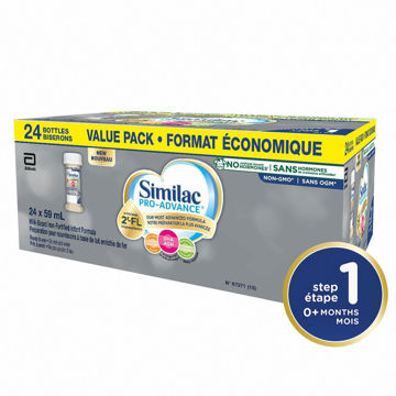 "Picture of ""Similac Pro-Advance® Step 1 Baby Formula, 0+ Months, with 2'-FL"" 24*59ml"