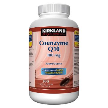 Picture of Kirkland Signature Coenzyme Q10 100mg 300Softgels