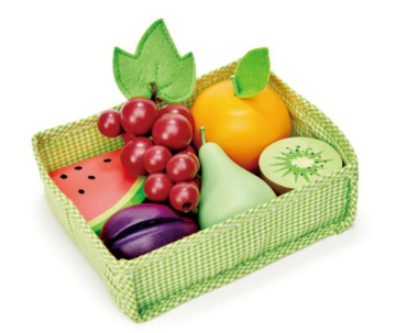 Picture of Tender Leaf Toys Fruity Crate   (3 years and older)