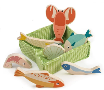 Picture of Tender Leaf Toys fish crate  3 years +