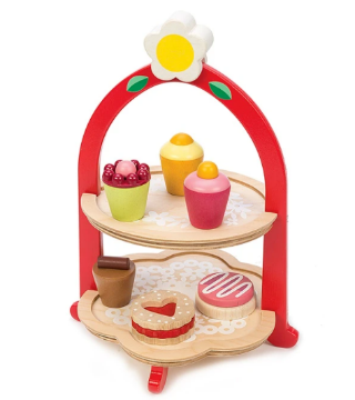 Picture of Tender Leaf  Toys Afternoon Tea Stand 3 years +