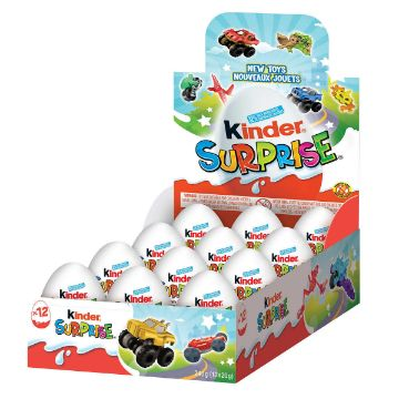Picture of Kinder Surprise, 12 x 20 g