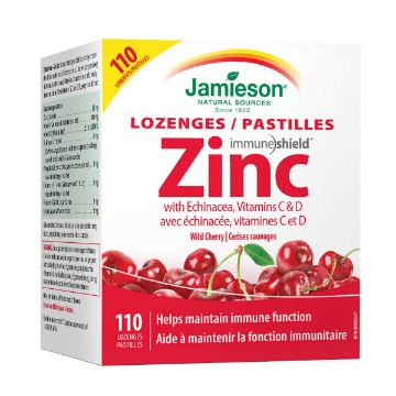Picture of Jamieson Zinc Lozenges, 110 Count