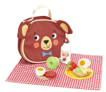 Picture of Tender Leaf  Toys Little Bear's Picnic  3 years +