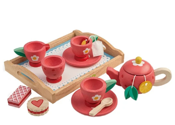 Picture of Tender Leaf  Toys Tea Tray Set  3 years +