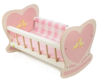 Picture of Tender Leaf  Toys Sweetiepie Dolly Cot  3 years +