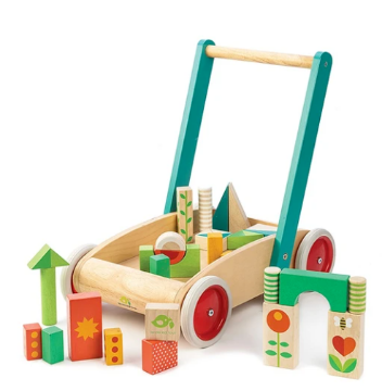 Picture of Tender Leaf  Toys Baby Block Walker  18months+