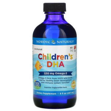 Picture of Nordic Naturals Children DHA Ddrops with Vitamin D3 -237 mL