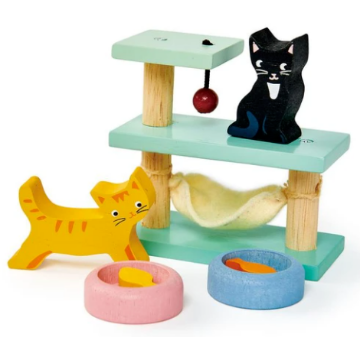 Picture of Tender Leaf  Toys Pet Cats Set 3 years+