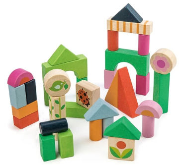 Picture of Tender Leaf  Toys Courtyard Blocks 18 months+