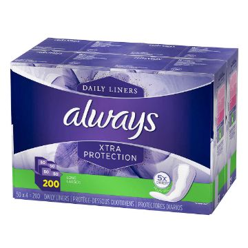 Picture of Always Dri-Liners Long Pantiliners Pack of 200