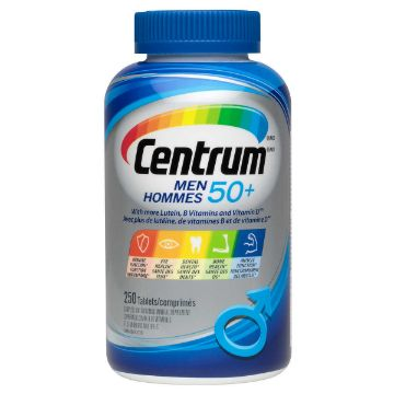 Picture of Centrum 50+ Multivitamin Supplement for Men - 250 Tablets