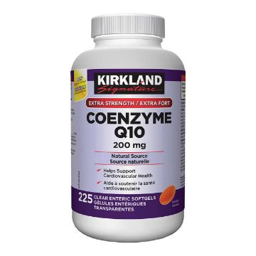 Picture of Kirkland Signature Coenzyme Q10 200mg 225Softgels