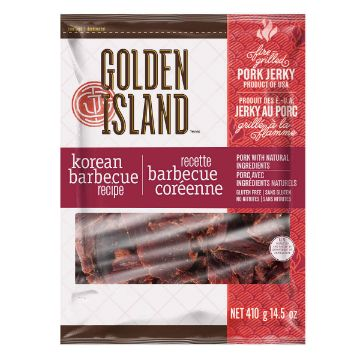Picture of Golden Island Korean Barbecue Pork Jerky, 410 g