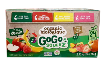 Picture of GoGo Squeez Fruit sauce Apple 20*90g 1.8kg