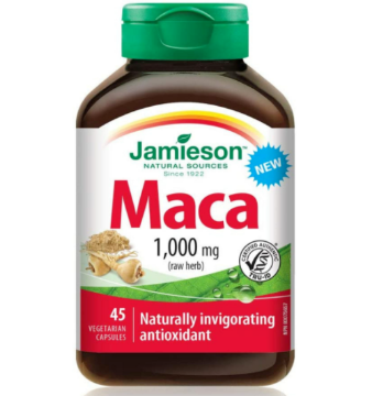 Picture of Jamieson Maca (Naturally invigorating antioxidant) 1000mg -45 Capsules