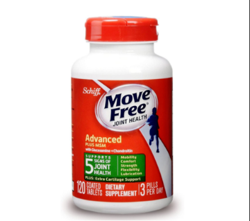 Picture of Move Free Glucosamine Chondroitin MSM and Hyaluronic Acid Joint Supplement, 120