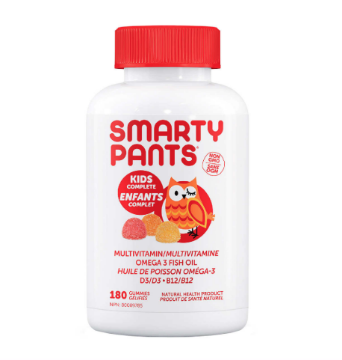 Picture of SmartyPants Kids Complete Multivitamin - 180 Gummies