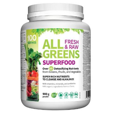 Picture of All Greens Superfood Vegetarian Powder 890g Gluten Free