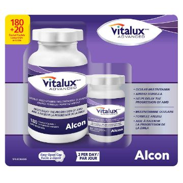 Picture of  Vitalux Advanced Ocular Multivitamin 180 Coated Tablets