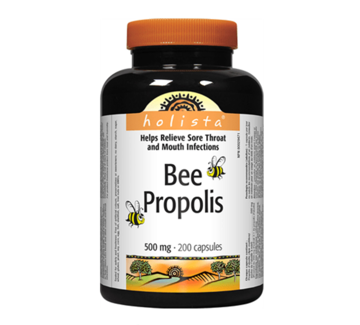 Picture of Holista Bee Propolis 500mg  -200 Capsules