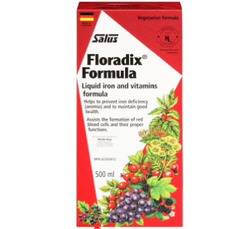 图片 Salus Floradix 铁元 Formula Liquid Iron and Vitamins Formula 500ml