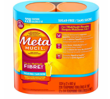 Picture of Metamucil Fibre Powder (Sugar Free) -2 × 662g