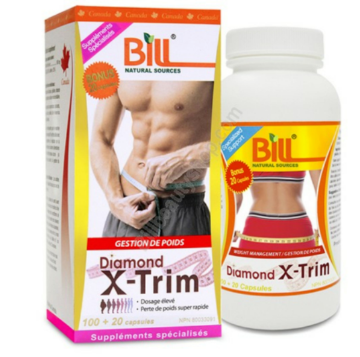 Picture of Bill Natural Sources Diamond X-Trim 160mg -120 capsules