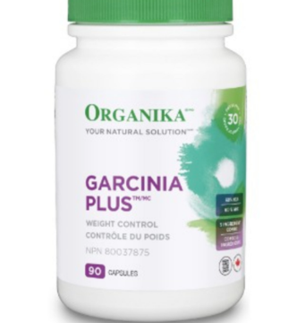 Picture of Organika Garcinia Plus (Garcinia Fruit Extract Providing 60% HCA)- 90 Capsules