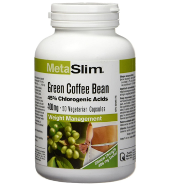 Picture of Webber Naturals MetaSlim Green Coffee Bean 400mg- 50 Capsules