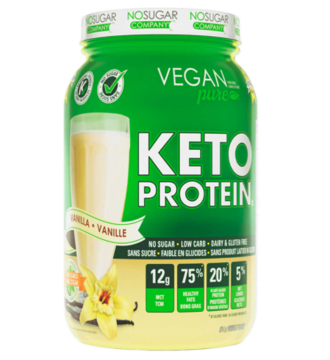Picture of Vegan Pure KETO Protein Vanilla 814g