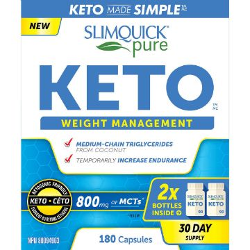 Picture of Slimquick Pure Keto Weight Management - 2 x 90 Capsules