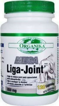 Picture of Organika Mega Liga-Joint 850mg -120 Capsules